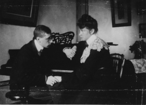 Omelno 1906 – Igor & Catherine Stravinsky