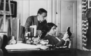 Igor and Catherine Stravinsky – Clarens, 1913