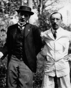 Igor Stravinsky and Ramuz – Morges 1917