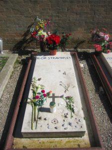 Stravinsky's grave, San Michele cemetary - Venice