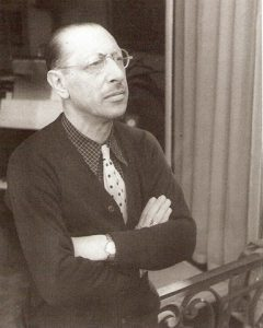 Igor Stravinsky – Paris, 1937