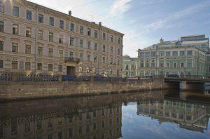 Kryukov Canal, St Petersburg - Stravinky's family apartment
