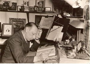 Igor Stravinsky in his study – Hollywood